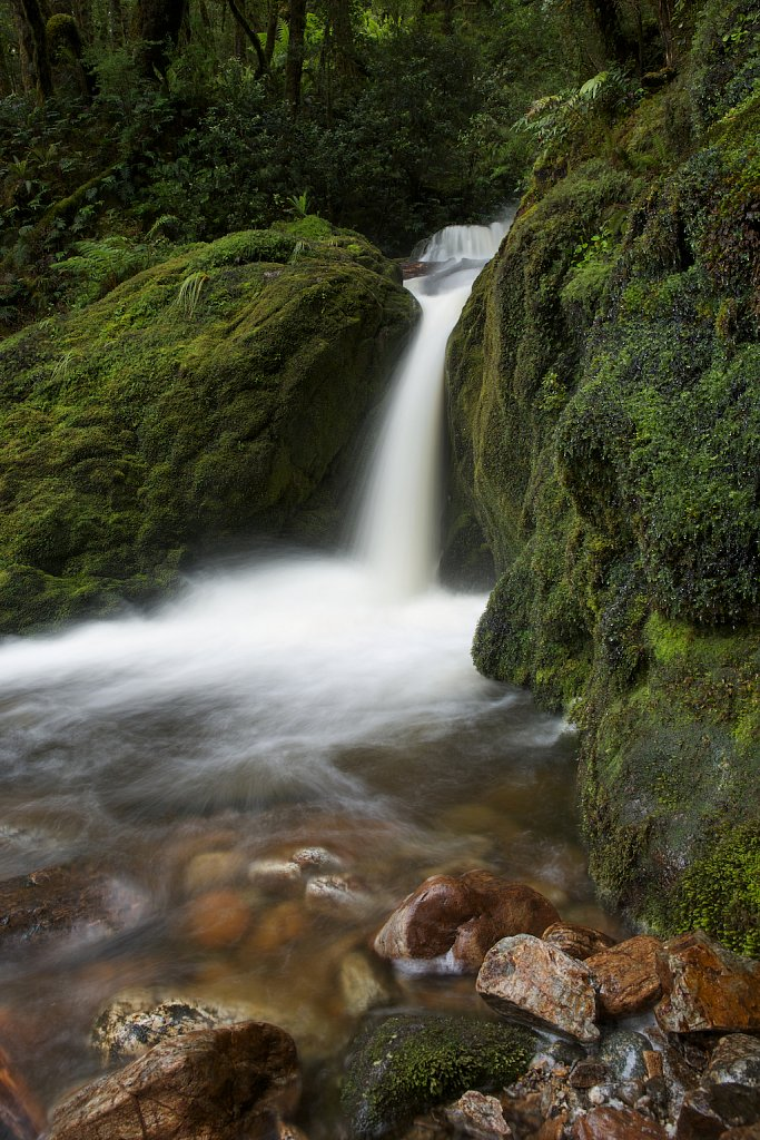 Wasserfall am Loch Maree